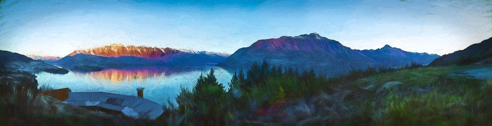 Queenstown View, New Zealand