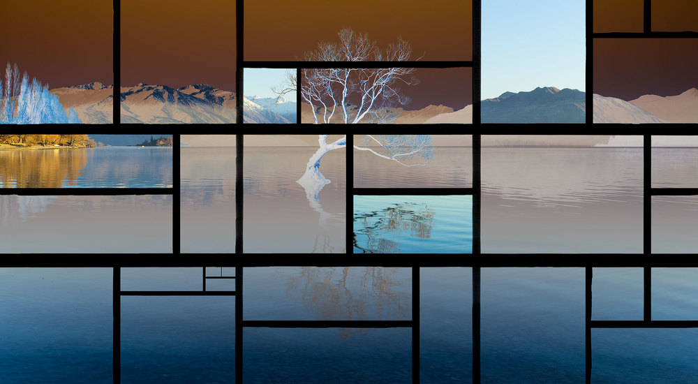 Mondrian View I, New Zealand