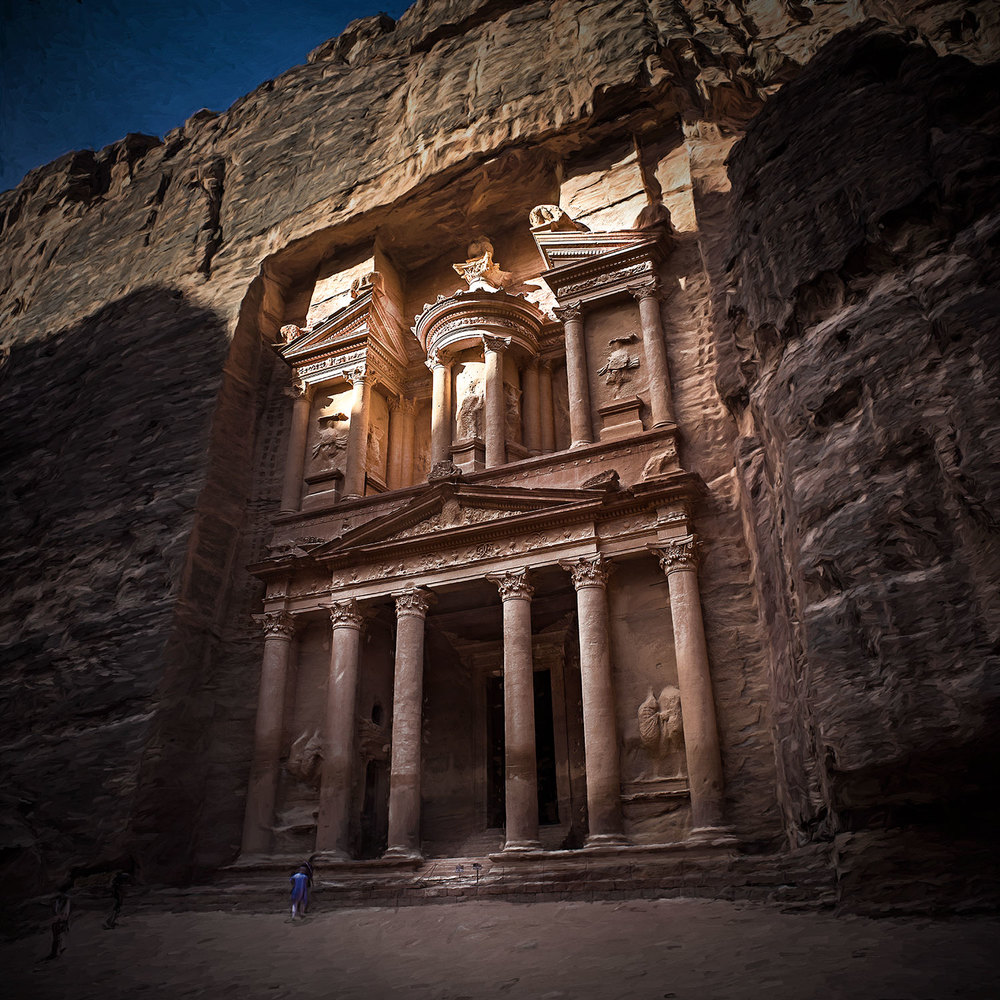 The Treasury, Petra, Jordan, 2015