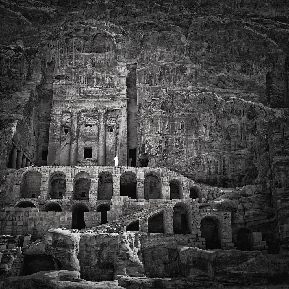 Royal Tomb, Petra, Jordan, 2015