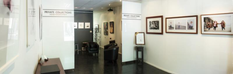 "Private Collections gallery in Adelaide, South Australia. ""Home base"" for location portrait photographer David Haddy with exhibitions of chidren's portraits, family portraits and fine art photography."