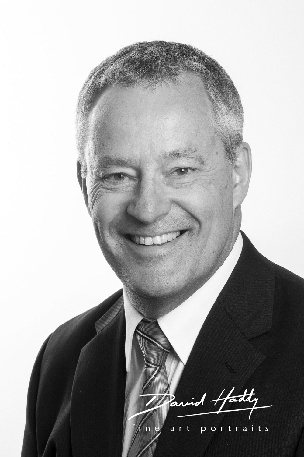 Business Head Shot by Adelaide photographer David Haddy