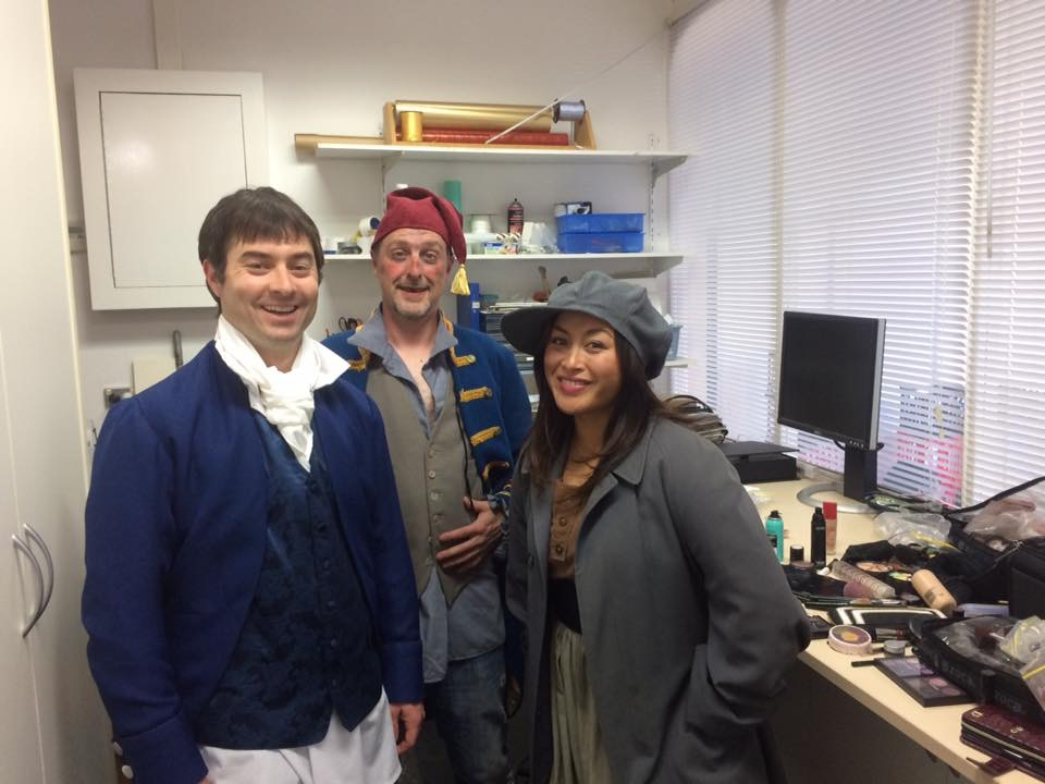 Behind the Scenes - Les Misérables cast at studio