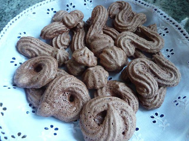 Schoggi Schümli - Schokoladen Schäumchen