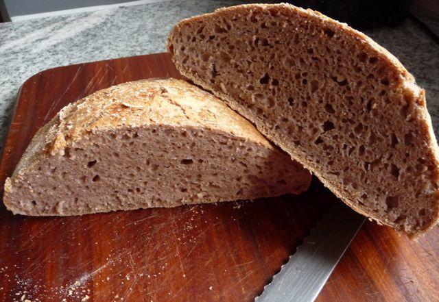 no knead bread - Brot ohne Kneten
