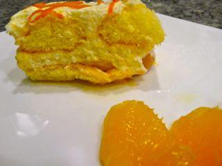 Weihnachtliches Orangentiramisu