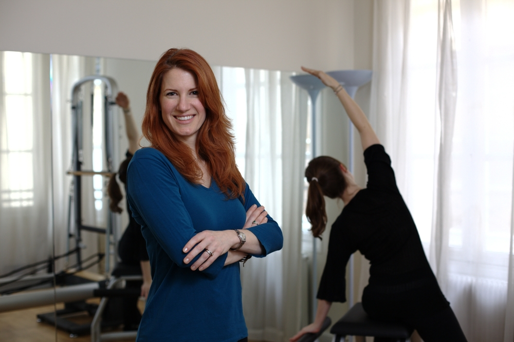 "Erin is a former professional dancer who has been teaching Pilates for 13 years in 3 countries. She   founded her own Pilates company in 2004, and created the ""Pink Ribbon Pilates Program"" - designed to help women recover from breast cancer surgery - at Morton Plant Hospital, as well as other programs for rehabilitating surgery patients and those recovering from back injuries with surgeons, chiropractors and physical therapists in NYC, Tampa and Paris. Erin is certified to train students and to certify Pilates Instruction professionals by The Physical Mind Institute in NYC: the world's first formal Pilates certification program. She also travels around the world for seminars and training workshops to keep up with the continuing evolution of the Pilates Method.  She speaks fluent English and French."