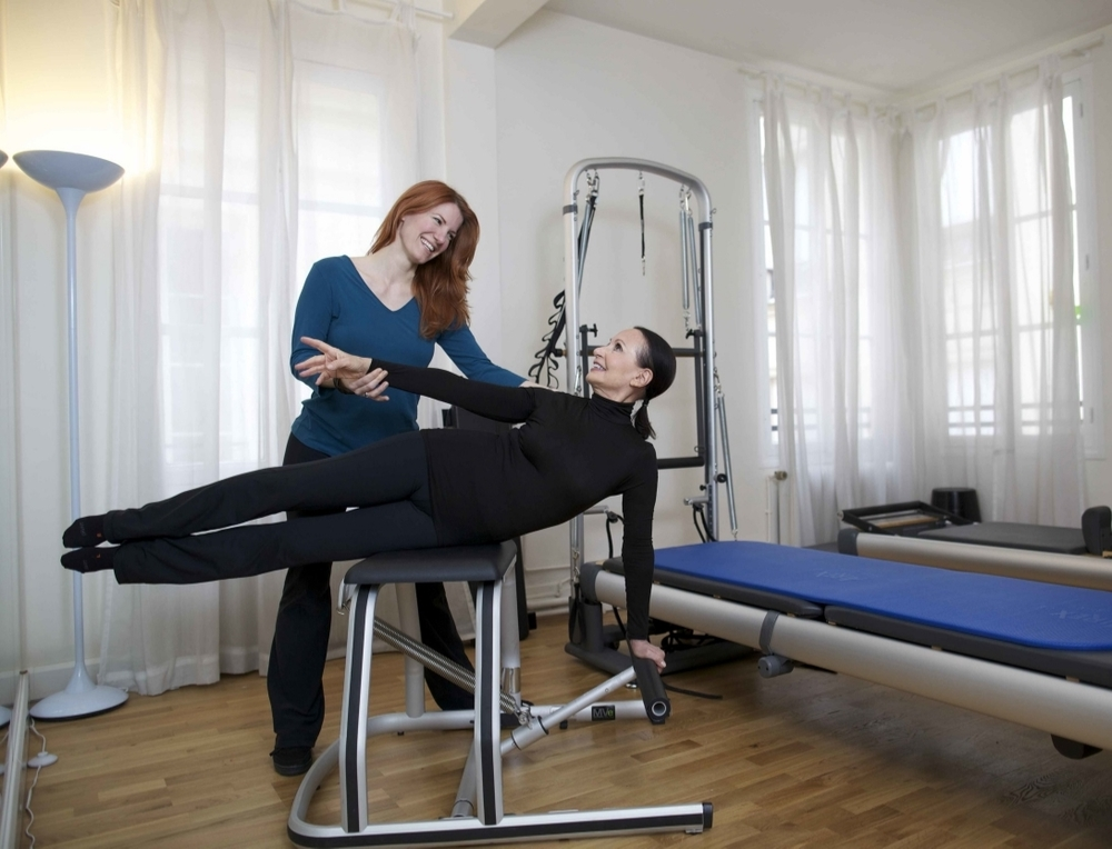 Pilates is not just good for your body, it's relaxing and fun too.