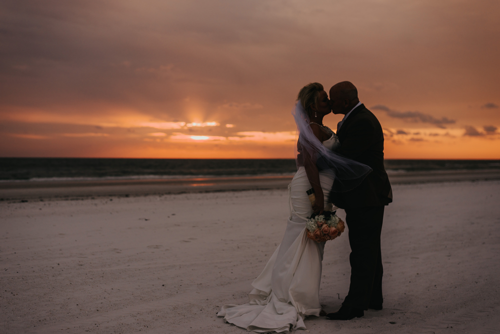 Marco Island Marriott Beach Resort Wedding Sunset