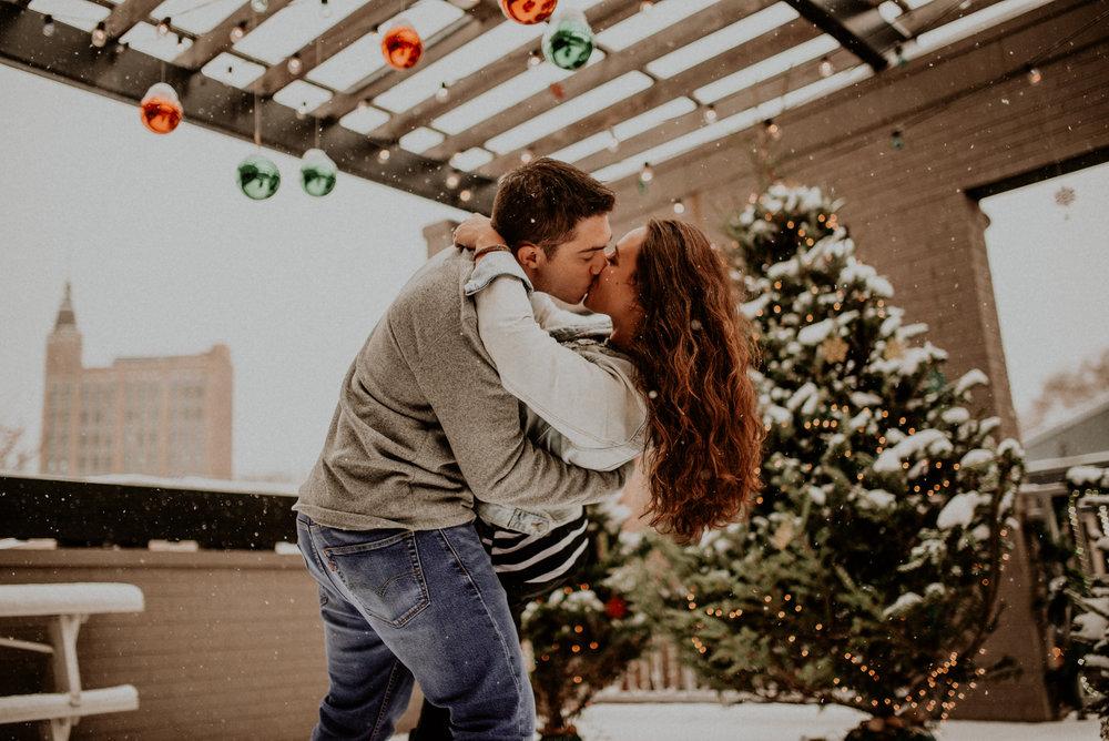 Jake and Brittany Chicago Illinois Engagement Session | Naples Florida Wedding Photographer 12