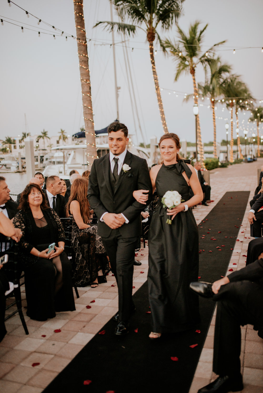Naples Florida Naples Bay Resort Wedding Photographer 77
