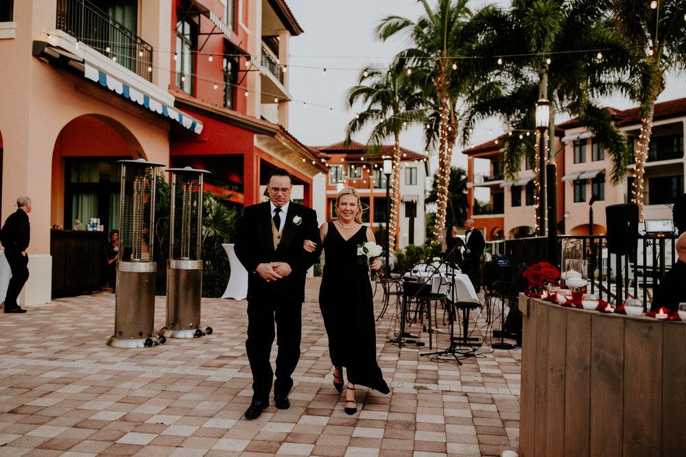 Naples Florida Naples Bay Resort Wedding Photographer 78