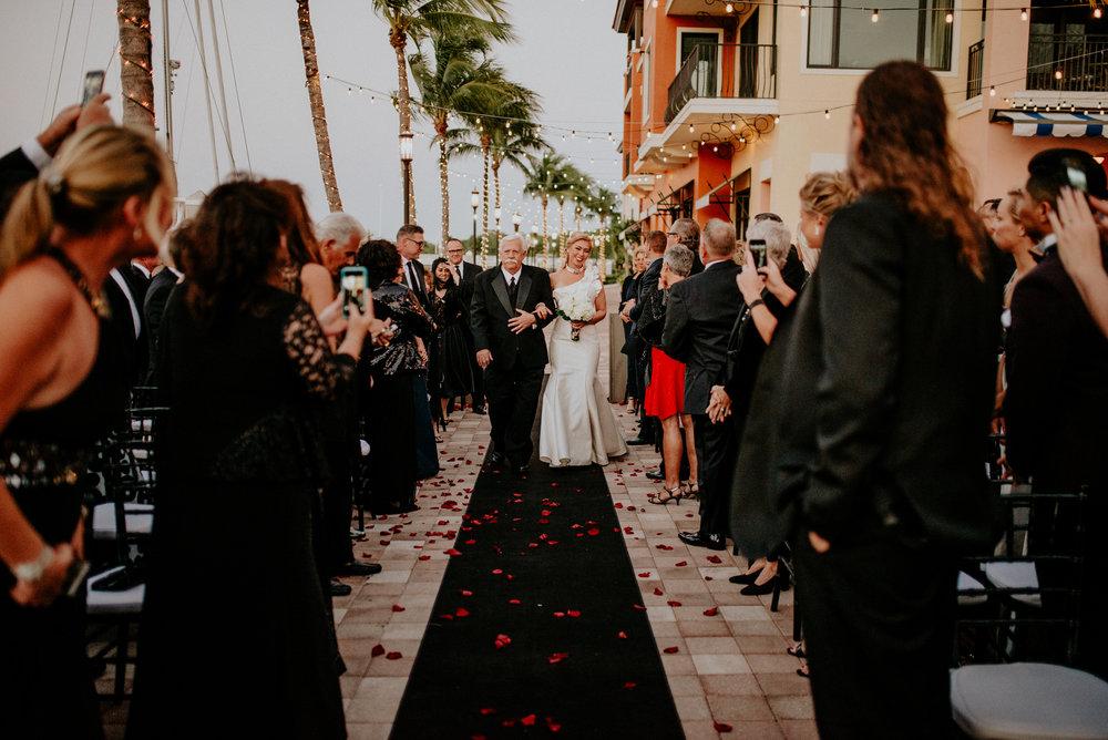 Naples Florida Naples Bay Resort Wedding Photographer 85