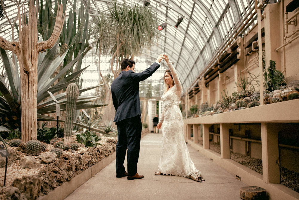 garfield park conservatory chicago wedding 31