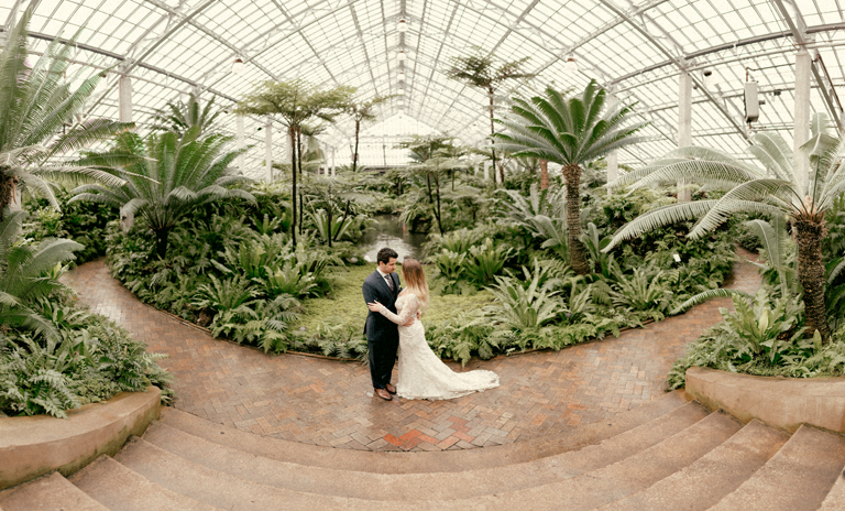 garfield park conservatory chicago wedding 37