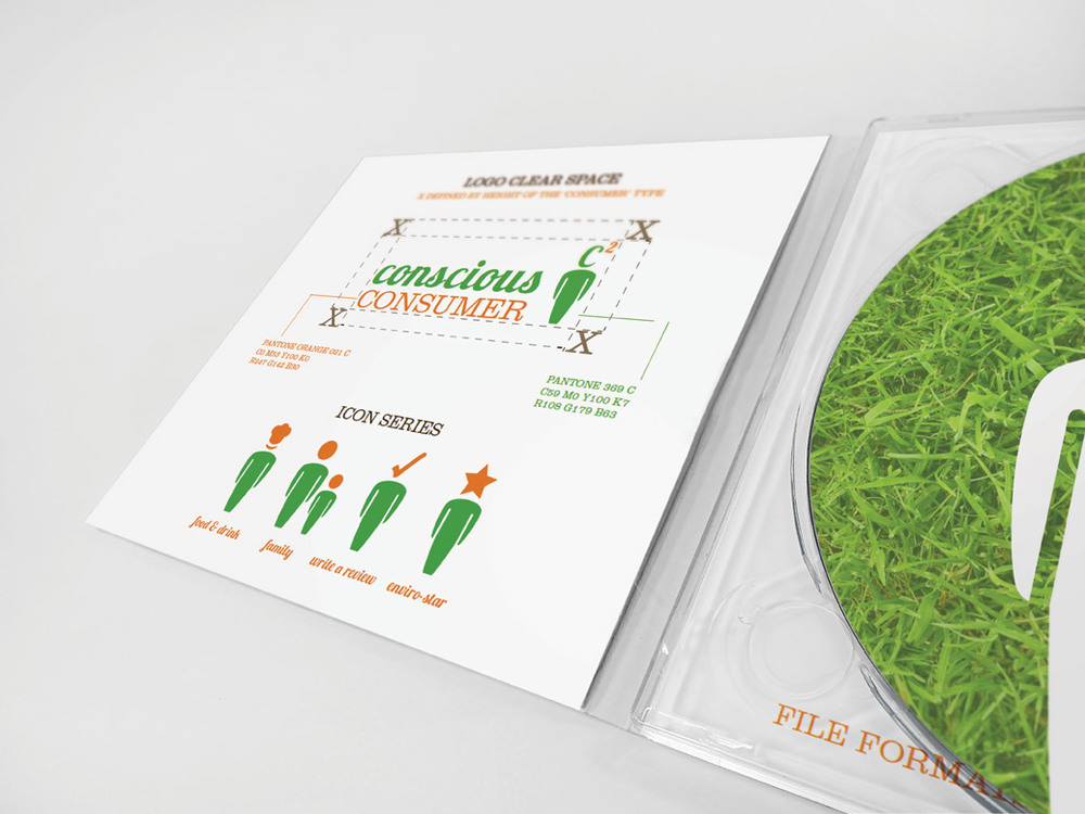 Conscious Consumer Brand Guidelines – CD Package
