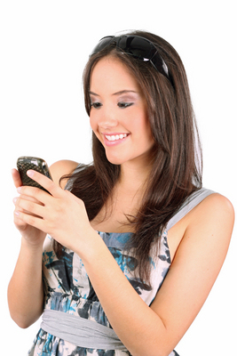 female teen delighted on phone.jpg