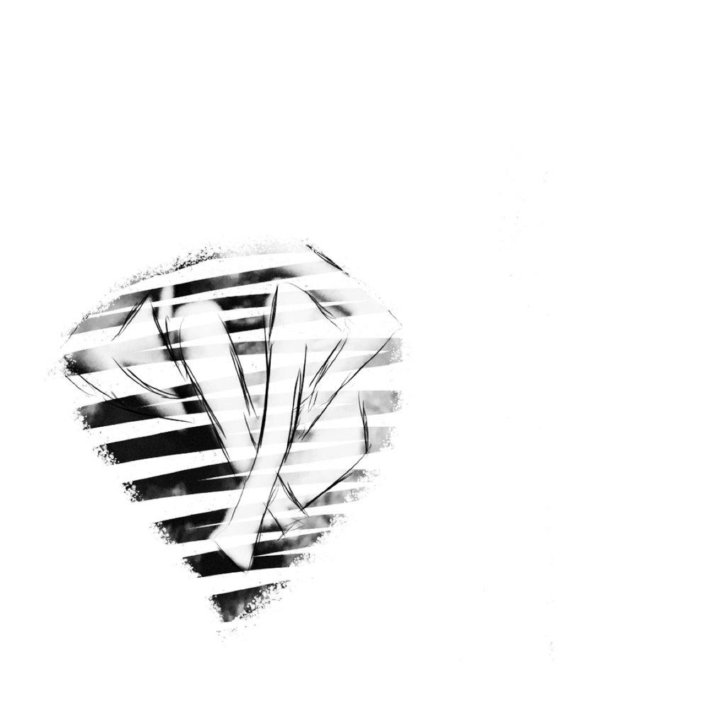 striped bucket