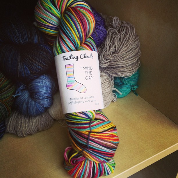 sock yarn delight