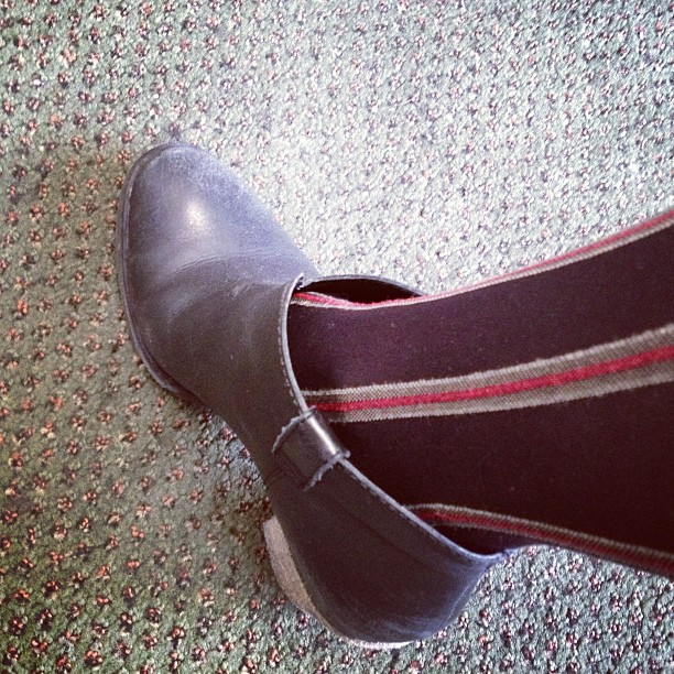 Tuesday shoes and tights