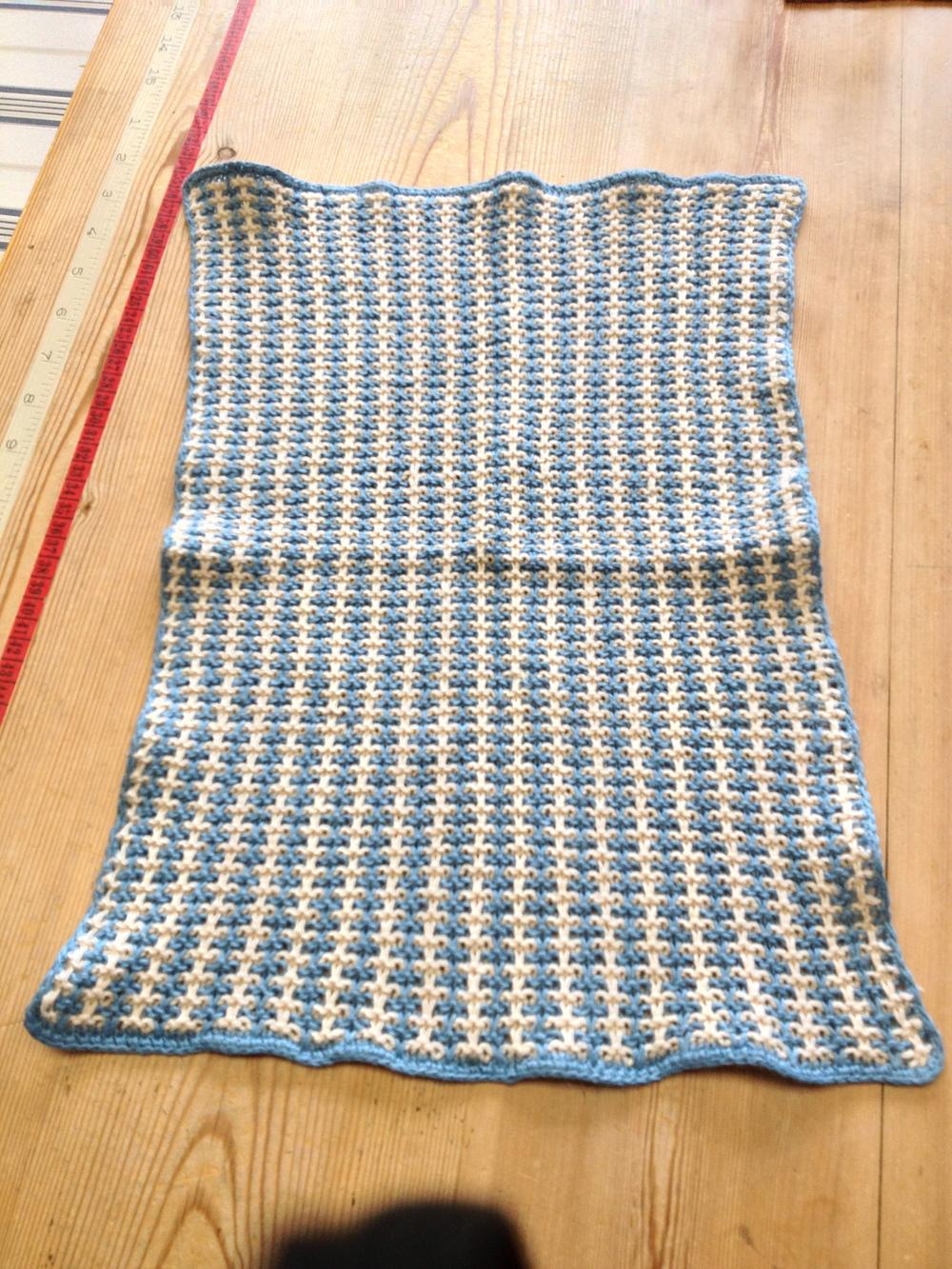 purlbee slip stitch placemat