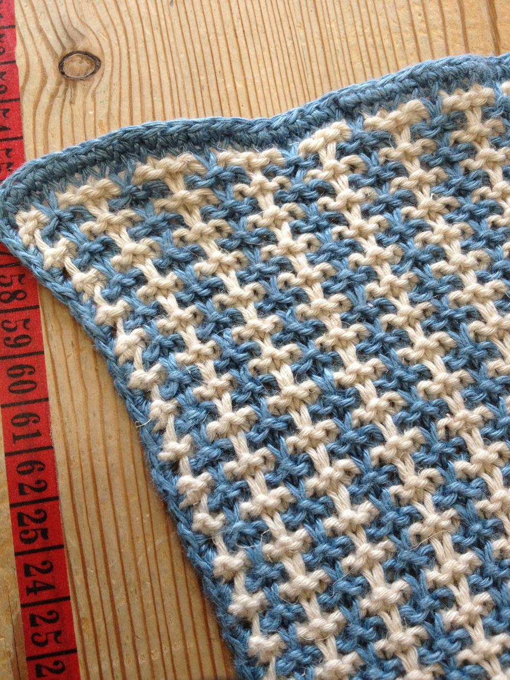 single crochet edges