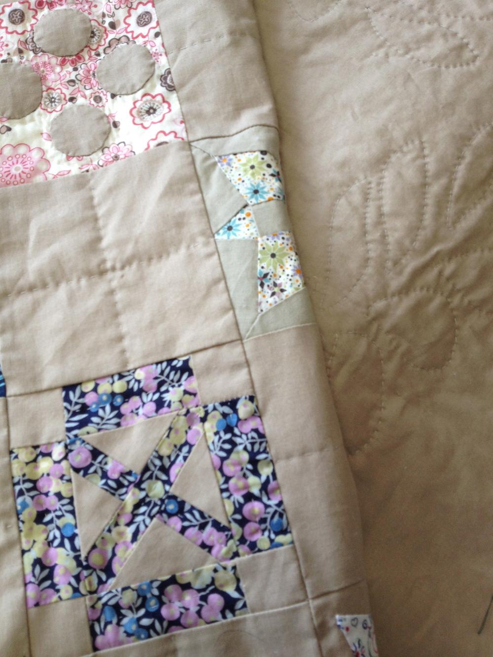 the Dear Jane quilt ... sneak peek!