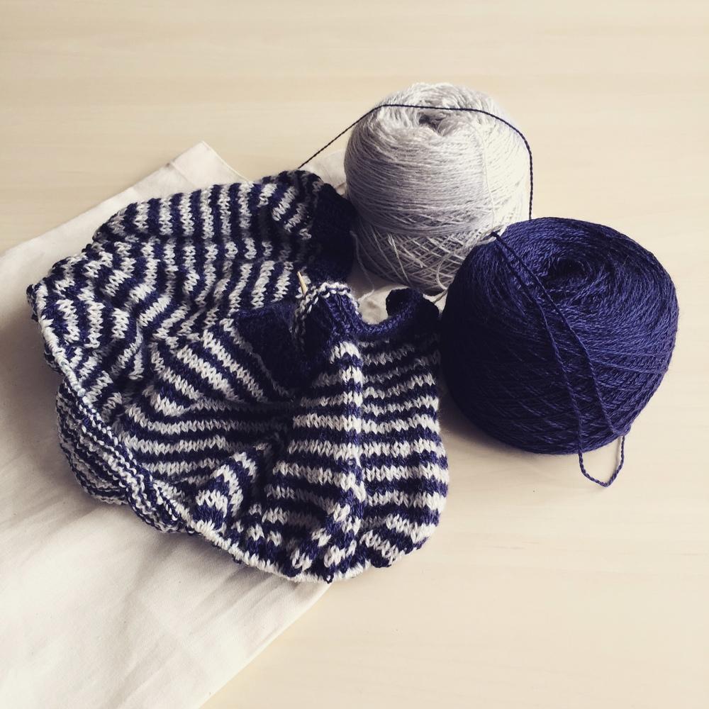 I knit it ...
