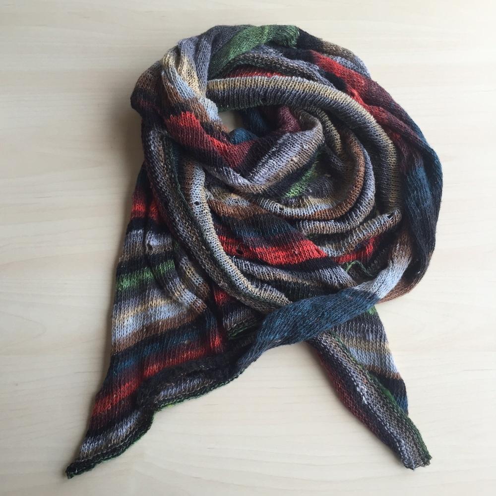 JETSTREAM shawl in NORO TAIYO LACE ... love love love!