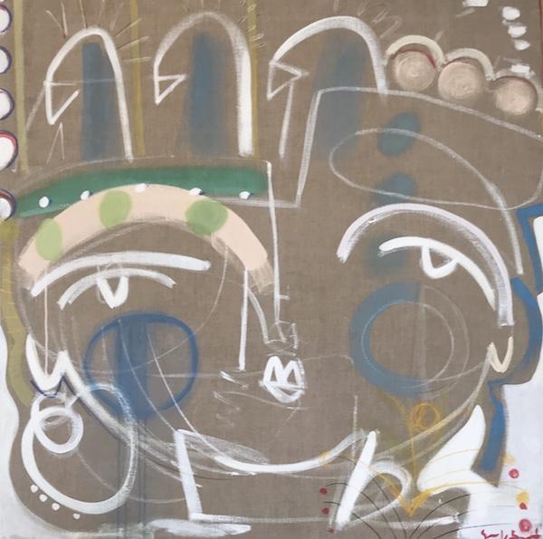Flock Together 70x70 on linen copy.jpg