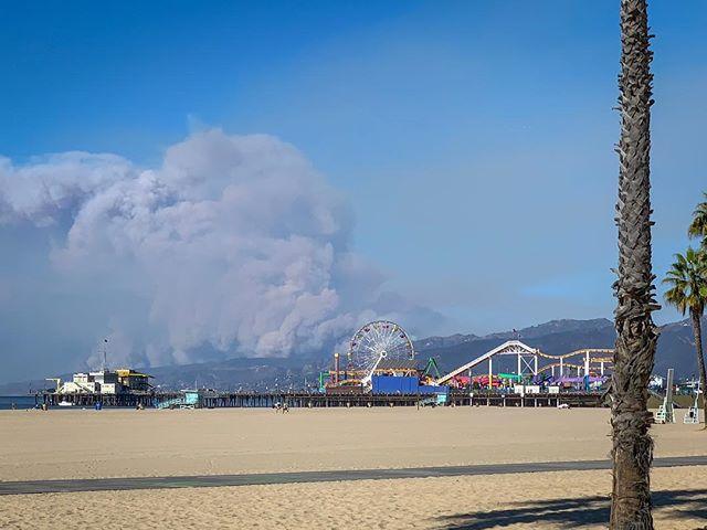 Wildfires in Malibu