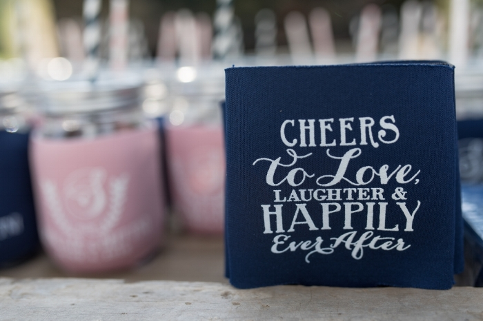 Don't send your guests away empty handed! Including a custom gift is a perfect way to thank all who came to celebrate with you.