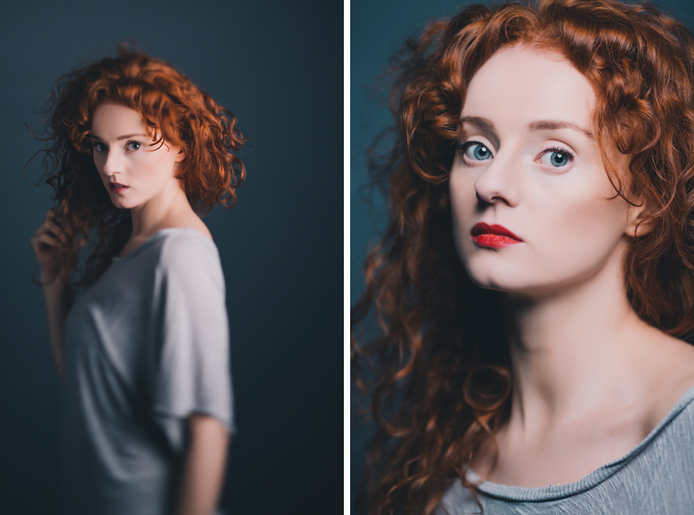 Dublin Portrait Photography - A studio test shoot with model Sophie Merry
