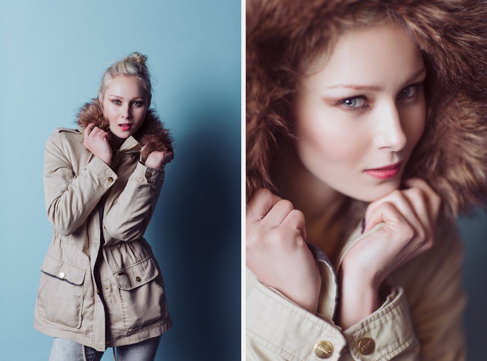 Dublin Portrait Photography - A studio test shoot with model Ewa Rendzyniak