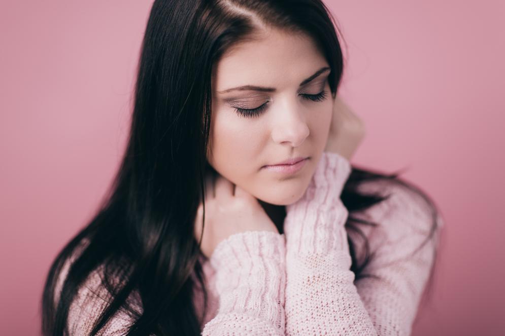 Dublin Portrait Photography - A studio test shoot with model Monika Klinaviciute
