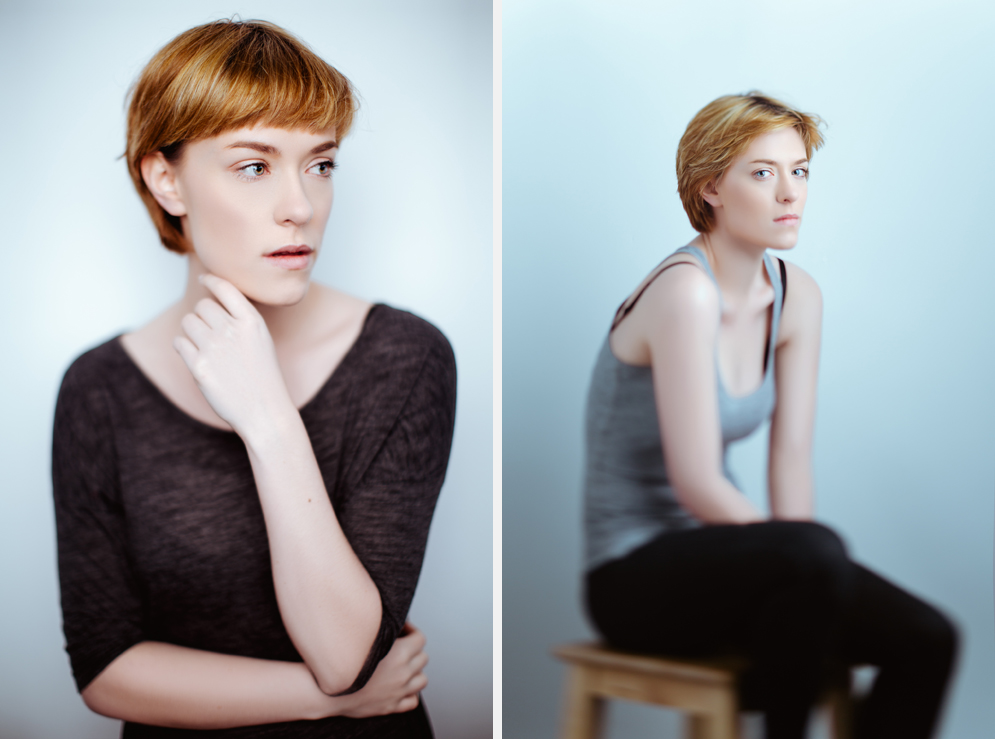 Dublin Portrait Photography - A studio test shoot with model Rebecca Dore