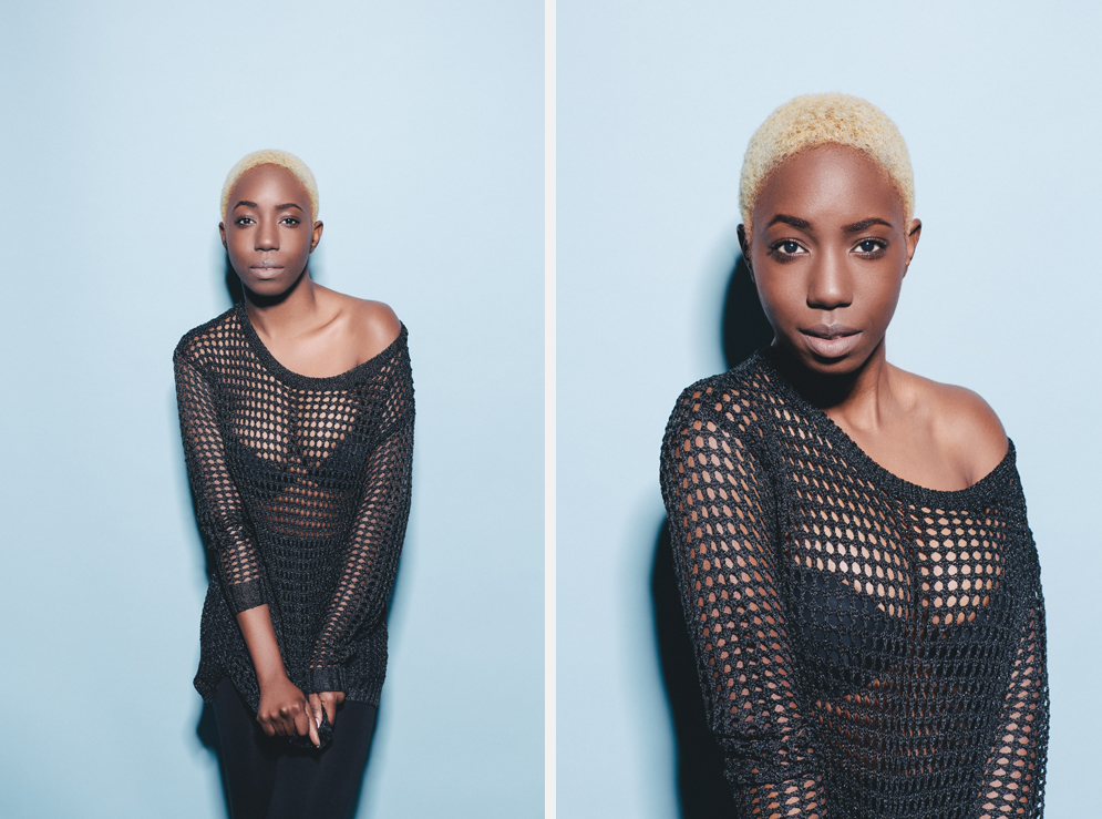 Dublin Portrait Photography - A studio test shoot with female model, Patrica Olufemi of Distinct Model Management