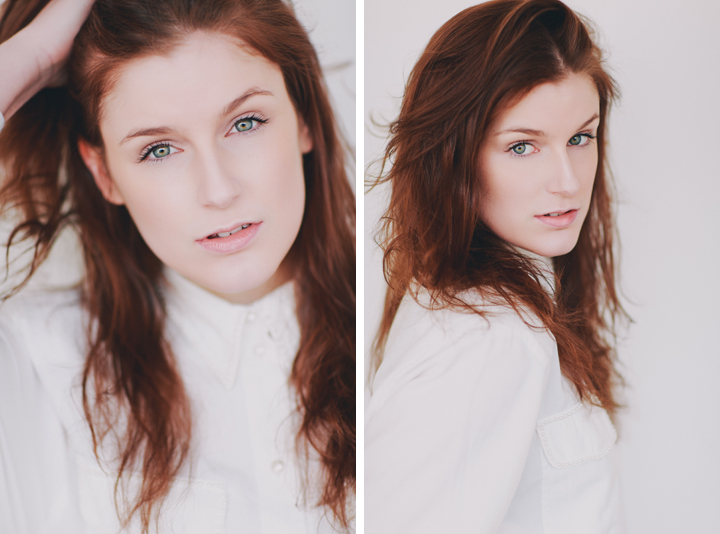 Dublin Portrait Photography - Kim Davitt from Distinct Model Management - Model Studio Test Photoshoot