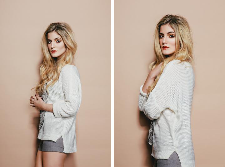 Dublin Portrait Photographer, Brian McNamara - Studio test shoot with model, Zarreen Moore of Distinct Model