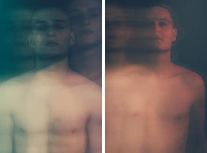 Dublin Portrait Photographer - studio test photo shoot with Ciaran and Luke Nestor of Distinct Model Management