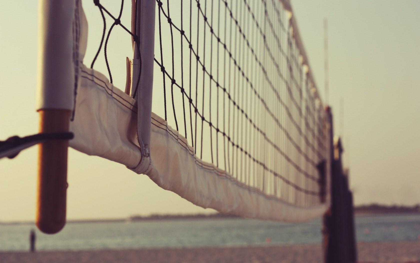 Volleyball Net Summer Beach Hd Wallpaper