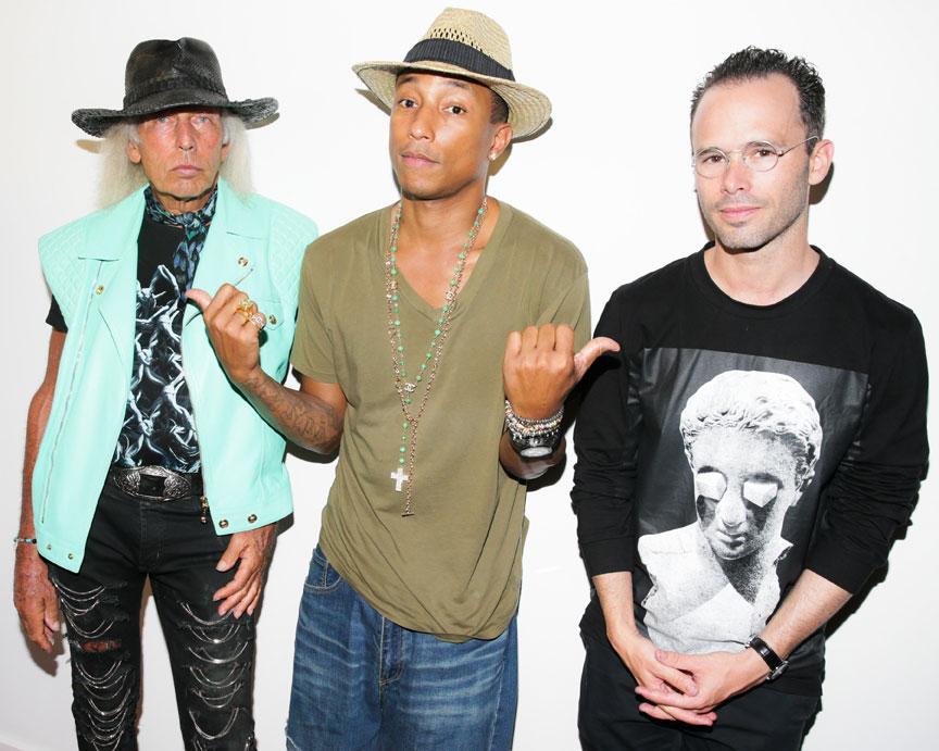 Pharrell Williams 1980 clear-mag-Art-ARSHAM-Pharrell-
