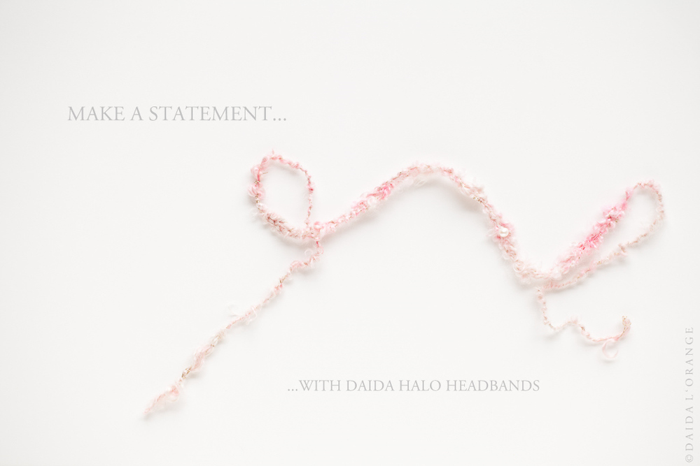 Selene - Newborn/Child Halo Headband - Blush Moon - Photography Prop - Luxe Coll