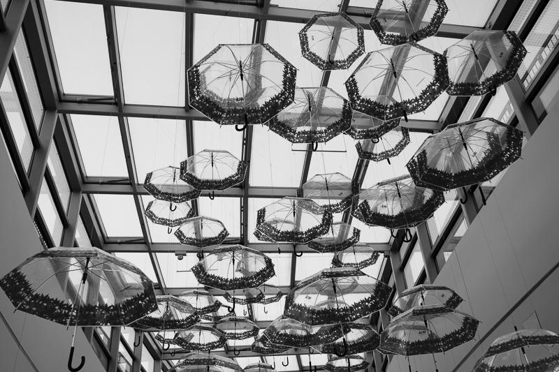 umbrellas at arcaden