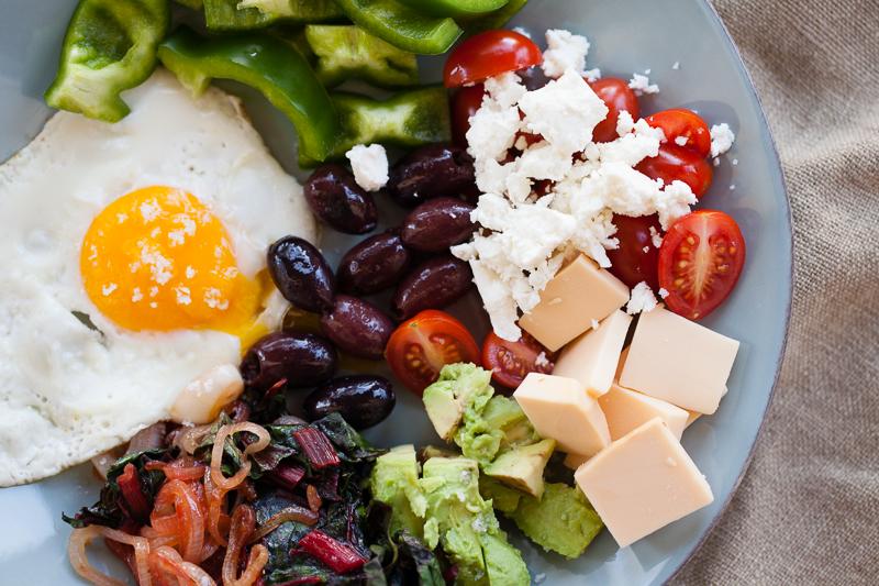 red chard breakfast