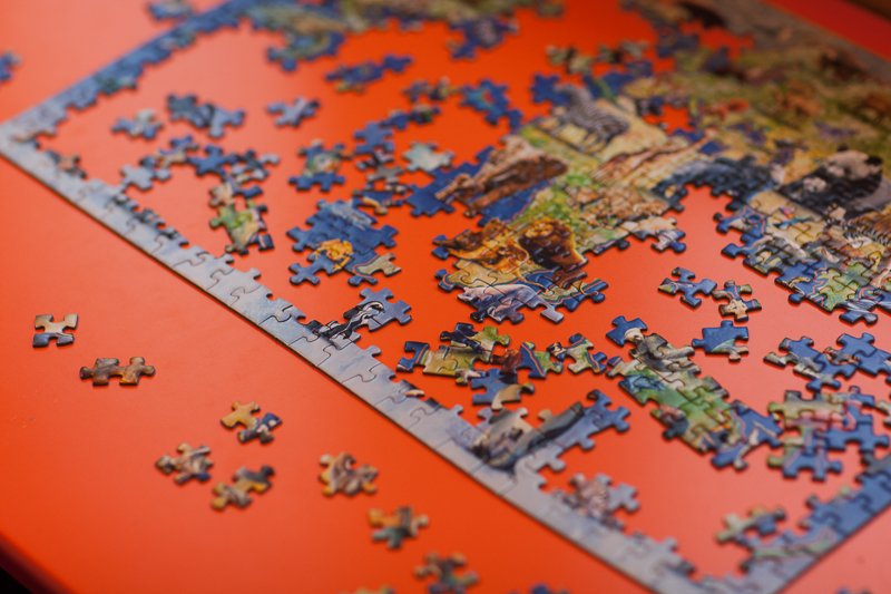puzzle unfinished