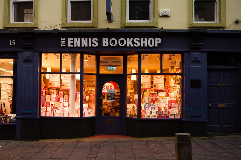 ennis bookshop feb 2015
