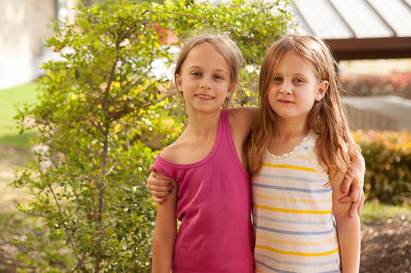girls outside