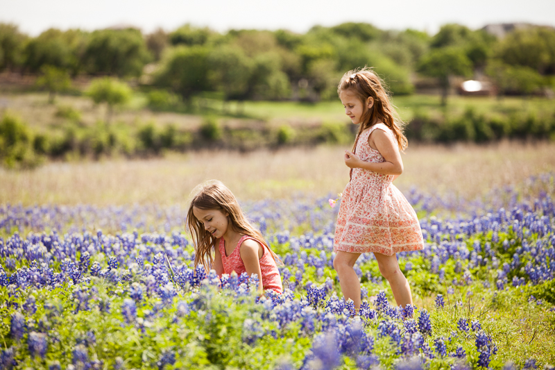 the girls the bluebonnets 2015