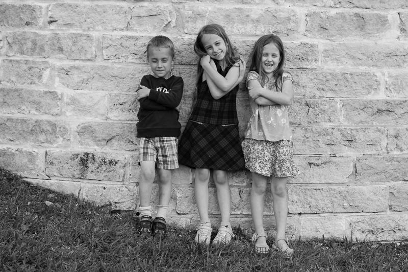 three hugs